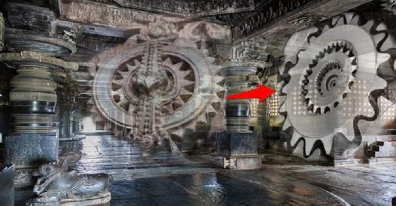 """Đền thờ cổ đại tại Ấn Độ được chế tác bằng máy móc """"hiện đại""""?"""