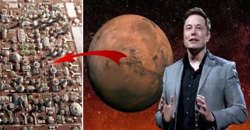 Tỷ phú Elon Musk tuyên bố đưa người lên sao Hỏa, thiết lập khu định cư lâu dài vào năm 2024