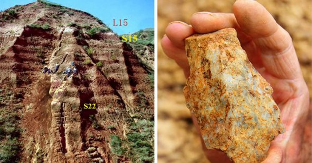 Công cụ bằng đá tìm thấy ở Trung Quốc chứng minh con người đã ở châu Á từ 2,1 triệu năm trước.