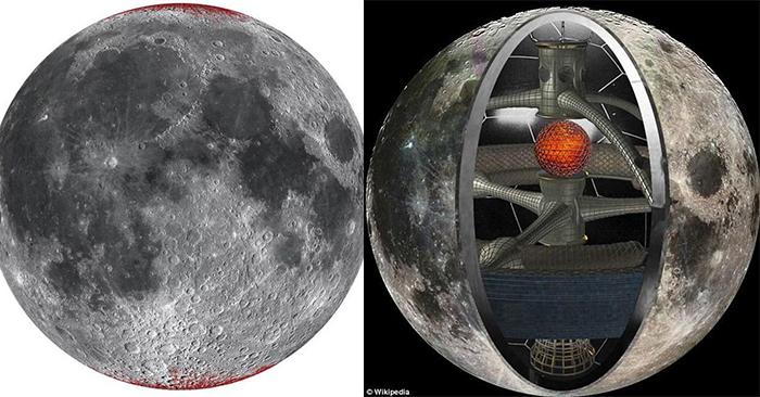 Khám phá mới tiết lộ Mặt Trăng bị rỉ sét dù không có nước và oxy, củng cố giả thuyết do người cổ đại tạo ra?