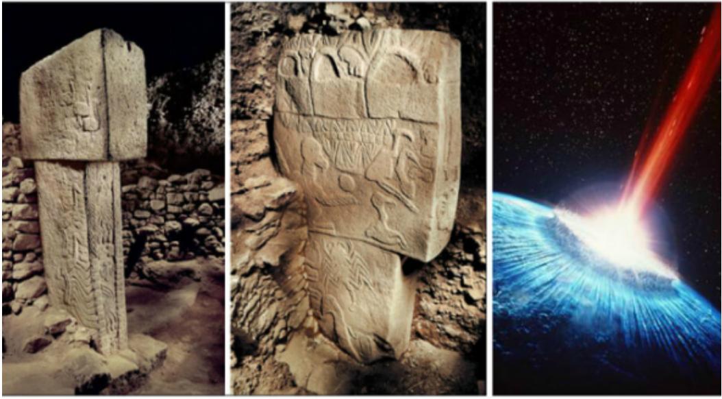 Bia đá miêu tả sao chổi đụng Trái Đất vào 13.000 năm trước. Kịch bản tương tự sẽ lặp lại vào năm 2030?