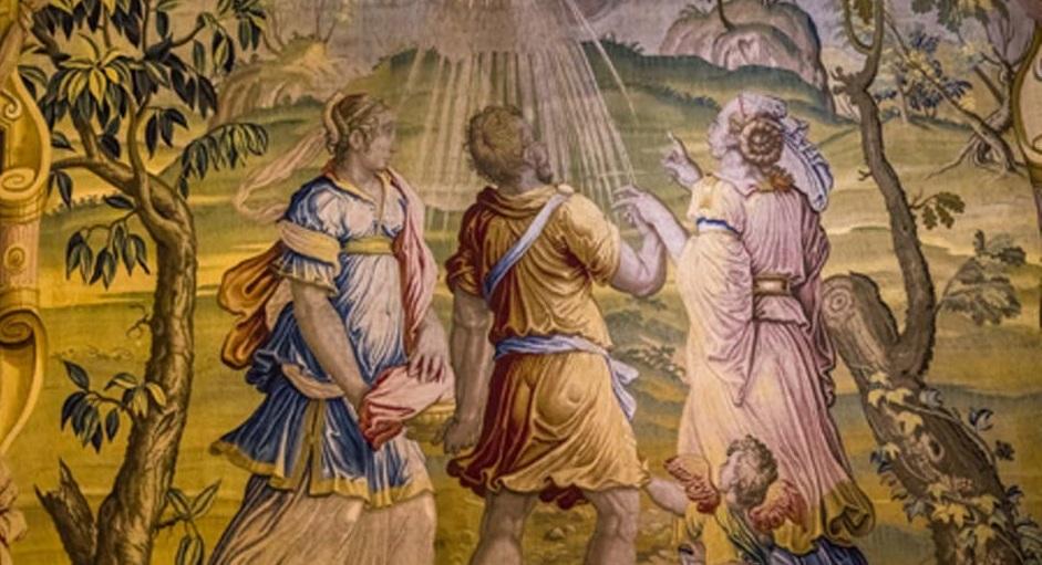 Những câu chuyện lạ về UFO trong tranh cổ và Thần tích trên chiến trường phương Tây.
