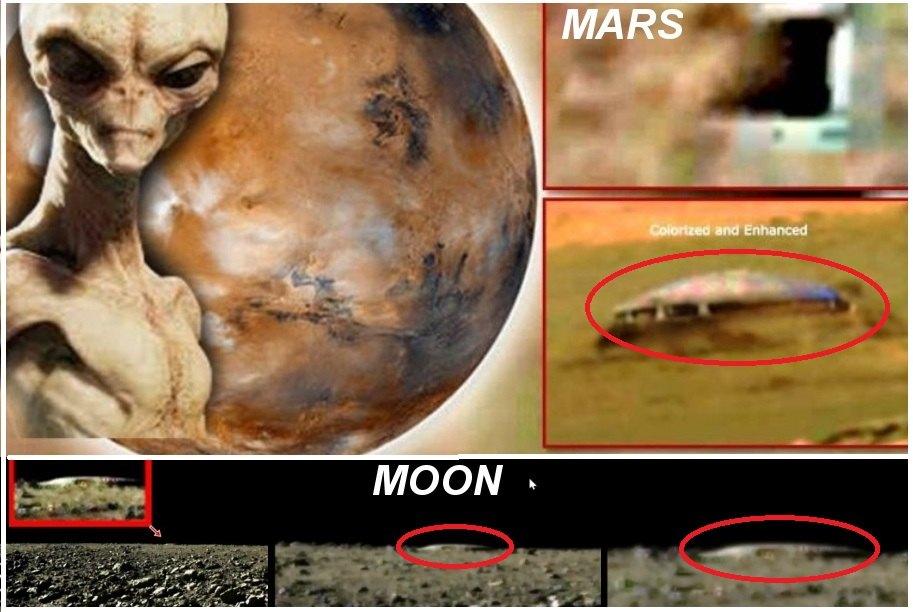 Sự Tồn Tại Của Người Ngoài Hành Tinh Trên Mặt Trăng. MARS, NASA Đang Sở Hữu Các Bức Ảnh Cho Thấy Các Cửa Ra Vào