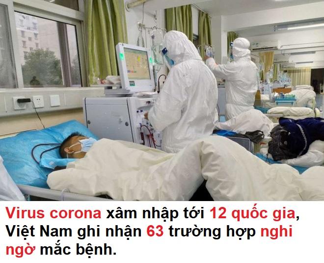 Virus  xâm nhập tới 12 quốc gia, Việt Nam ghi nhận 63 trường hợp nghi ngờ mắc bệnh