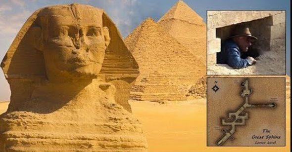 Khám phá thế kỷ: Các nhà khoa học đã tìm thấy lối vào bí ẩn trong Tượng Nhân sư?